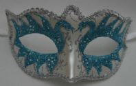 Turquoise Swan Mask